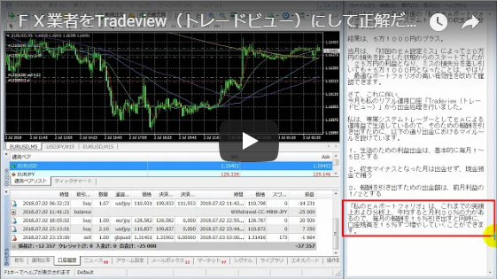 FX業者をTradeview